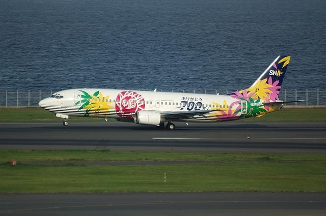 SNA Boeing737-400 4