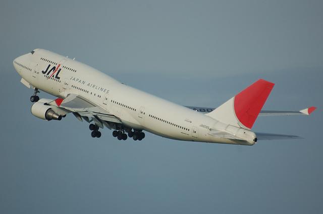 JAL B747-400 4
