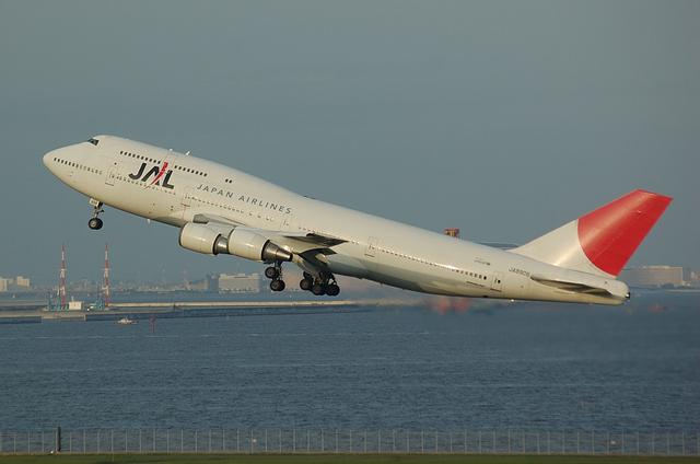 JAL B744 2