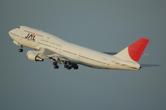 JAL B744 4