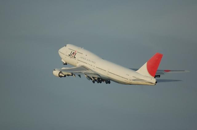 JAL B744 5