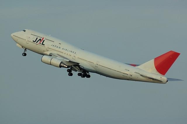 JAL B747-400D 4