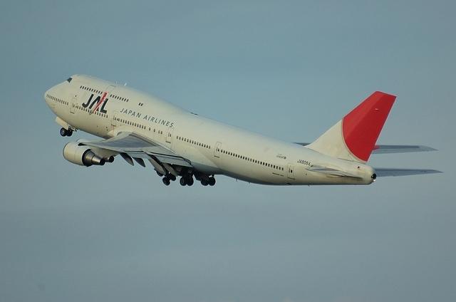 JAL B747-400D 5