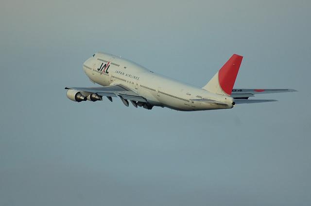 JAL B747-400D 6