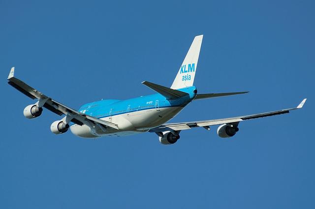 KLM B744 9