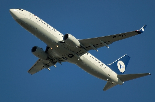 モンゴル航空 B738 1