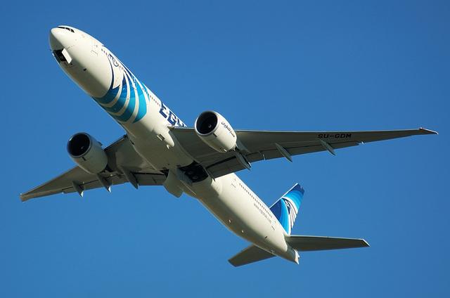 エジプト航空 B777 3