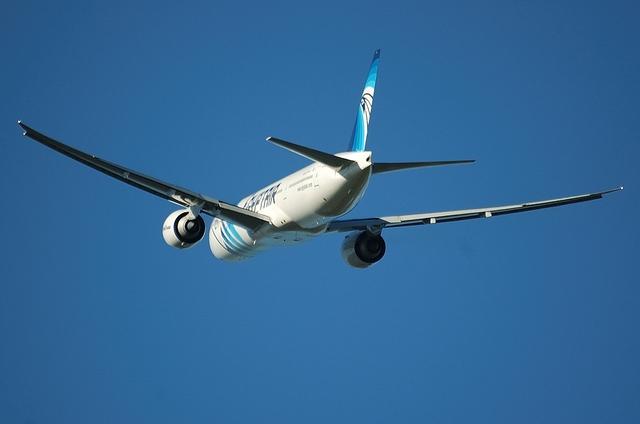 エジプト航空 B777 7
