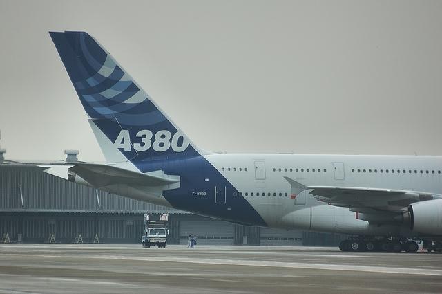 羽田空港でのA380 4
