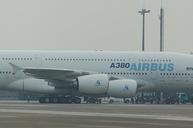 羽田空港でのA380 5