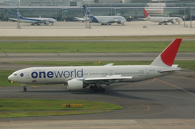 JAL ONE WORLD B777