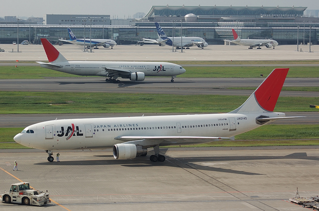 Boeing777とAirbus A300