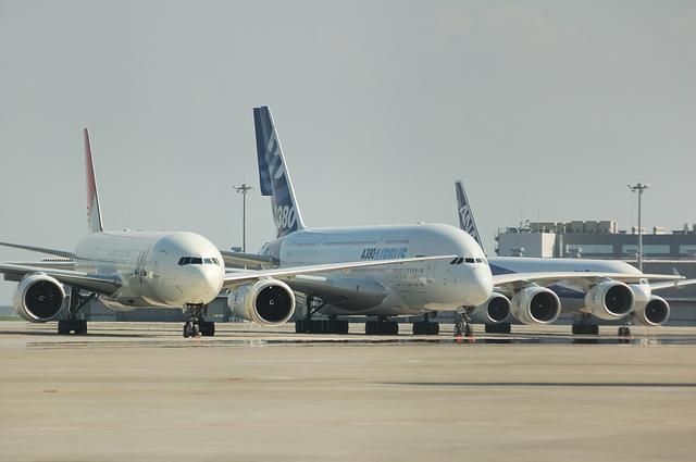 A380と777 2