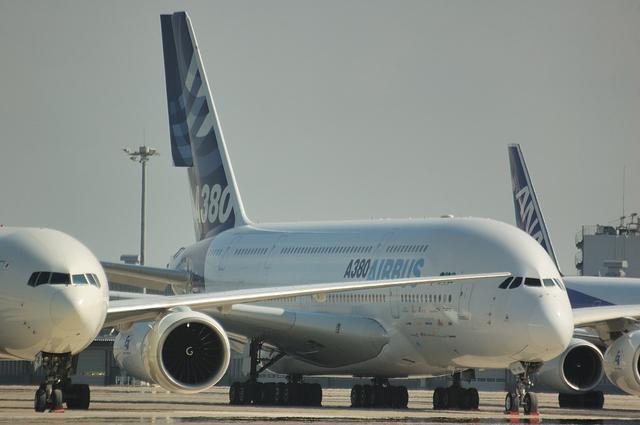 A380と777 4