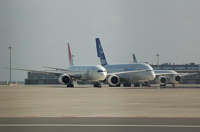 A380と777 1