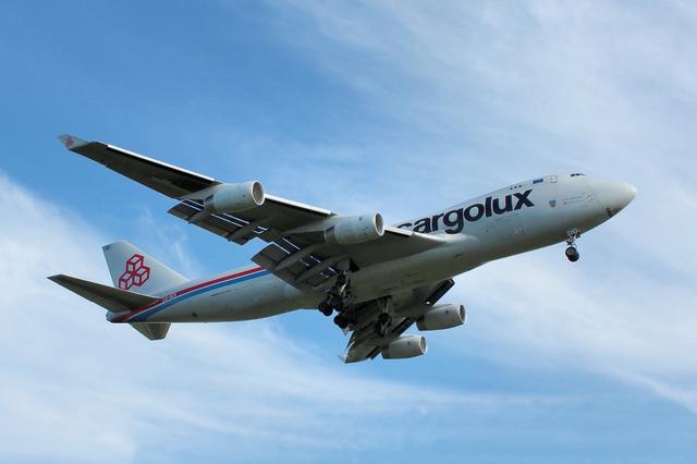 Cargolux B747-400F 1