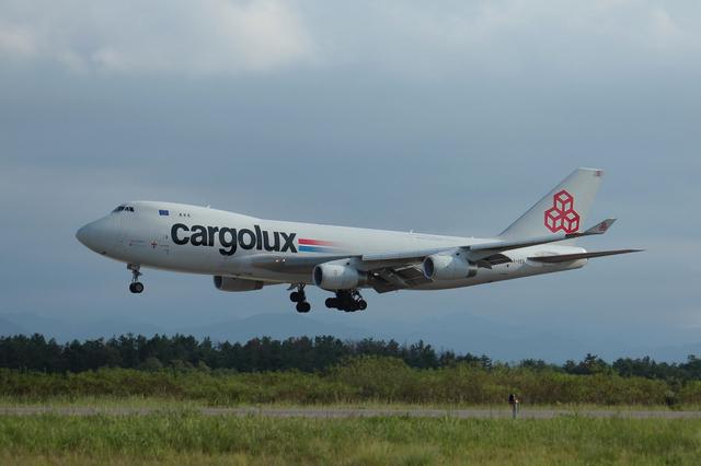 Cargolux B747-400F 2