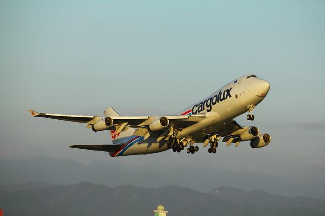 Cargolux B747-400F 3