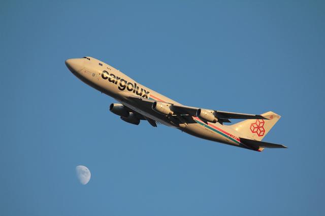 Cargolux B747-400F 5