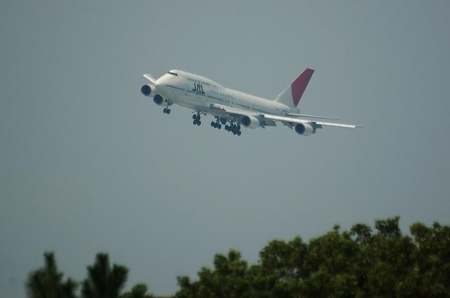 JAL B744 VOR-C 1