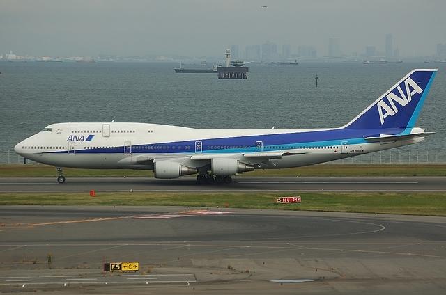 ANA B744 5