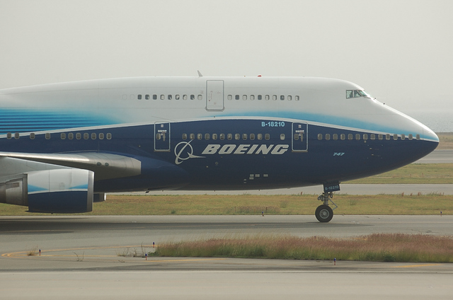 China Airlines Boeing塗装 1