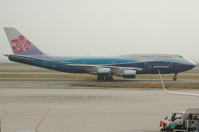 China Airlines Boeing塗装 2