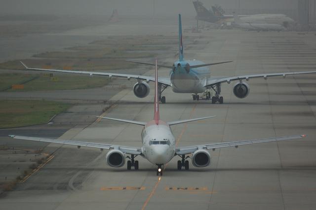 シンセン航空と大韓航空