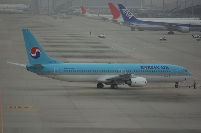 大韓航空 Boeing737-900 1