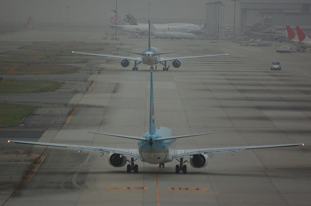 大韓航空 Boeing737-900 2