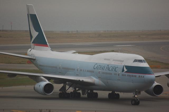 キャセイ Boeing747-400 1