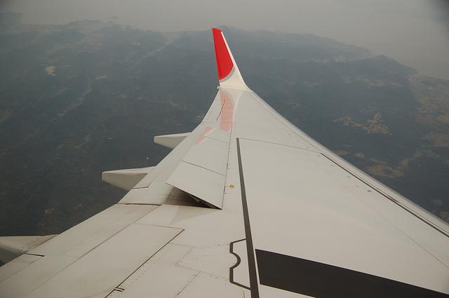 Boeing737の主翼 2
