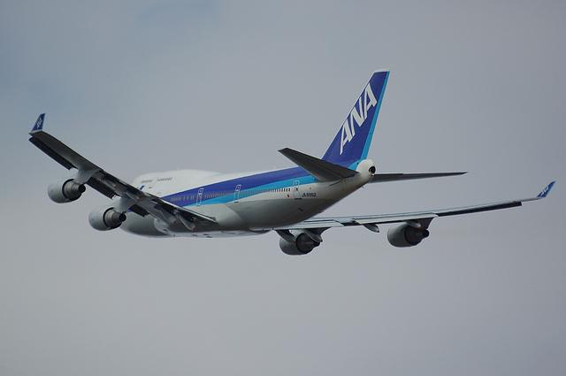 ANA B744 Inter 4