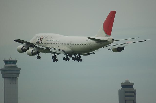 JAL B744 VOR-C 6