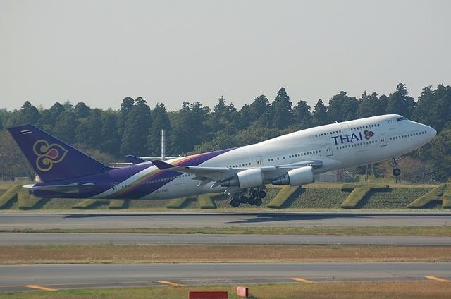THAI B744 2