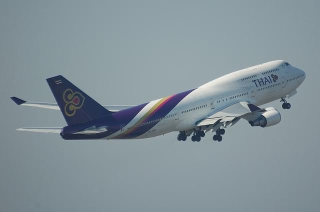 THAI B744 4