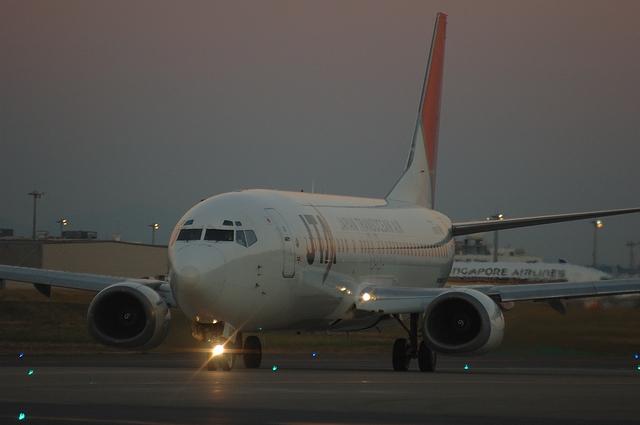 JAL B737-400 2