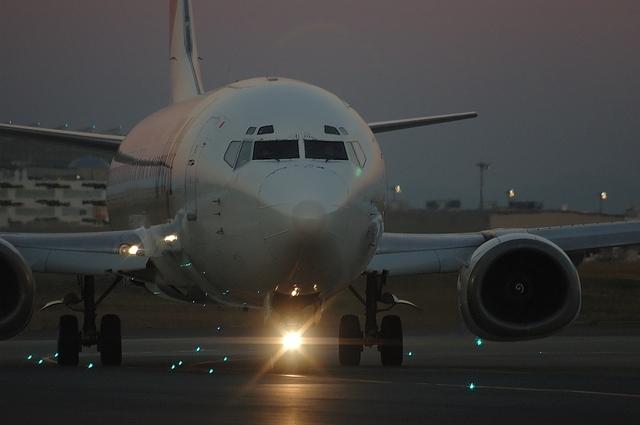 JAL B737-400 4