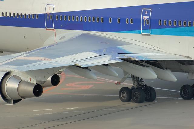 Boeing747 フラップ