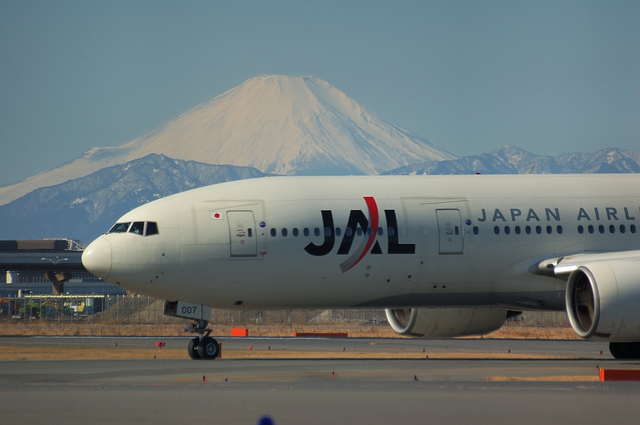 富士山とJAL