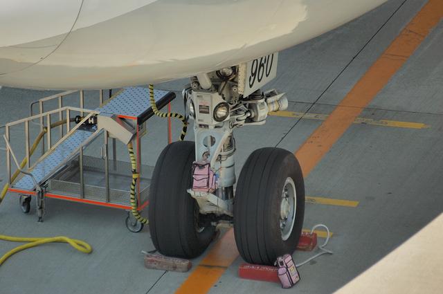 Boeing747 ノーズギア