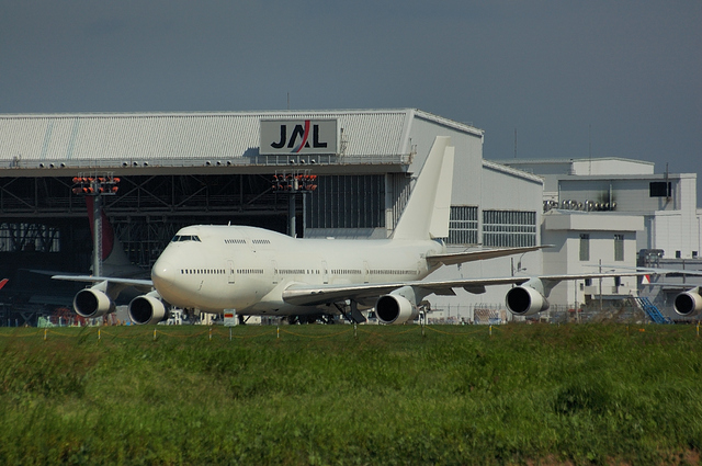 JAL ハンガー