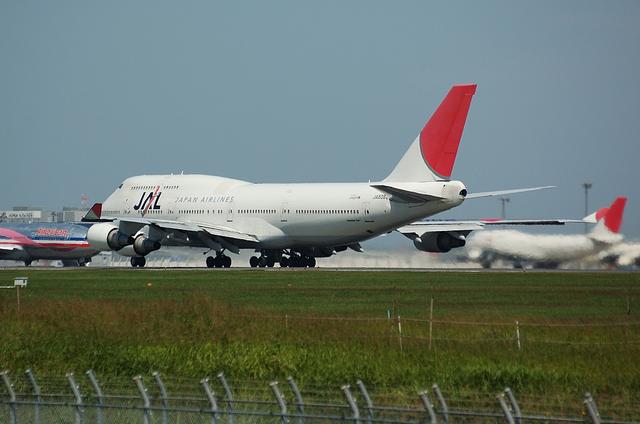 JAL B744