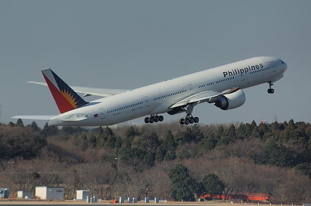 フィリピン B777