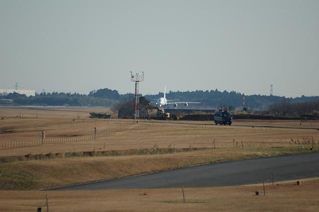 34L離陸開始位置