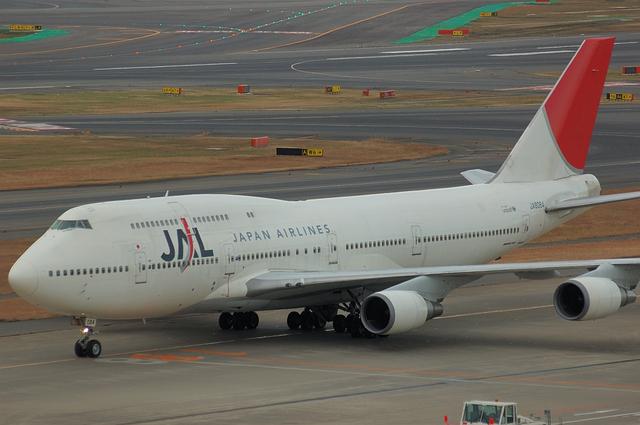 JAL B747 6