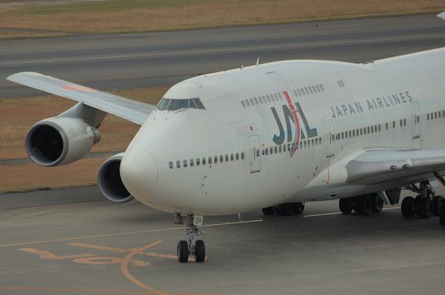 JAL B747 7