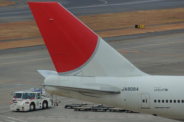 JAL B747 9