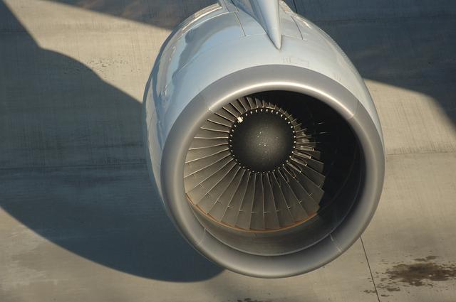 Boeing747 エンジン