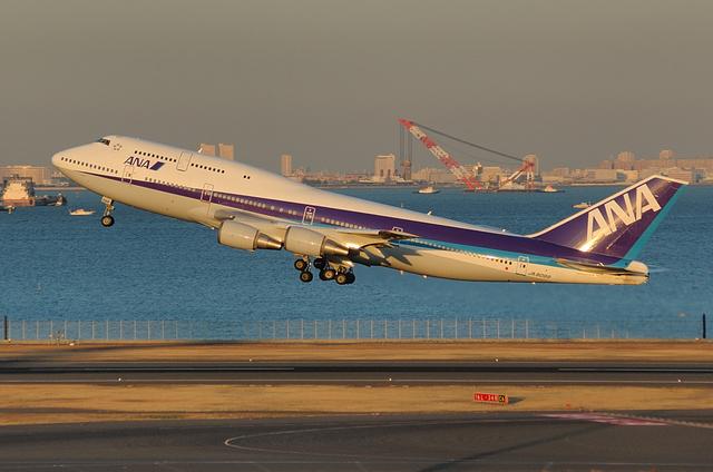 B747 離陸!